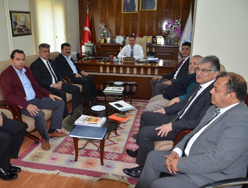 Mehmet Tanrıöver İl Müdürü Ataşbak'ı Ziyaret Etti
