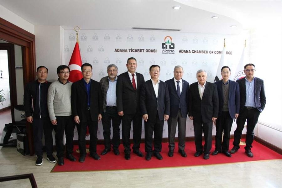 Adana ile Çin arasında iş birliği görüşmeleri