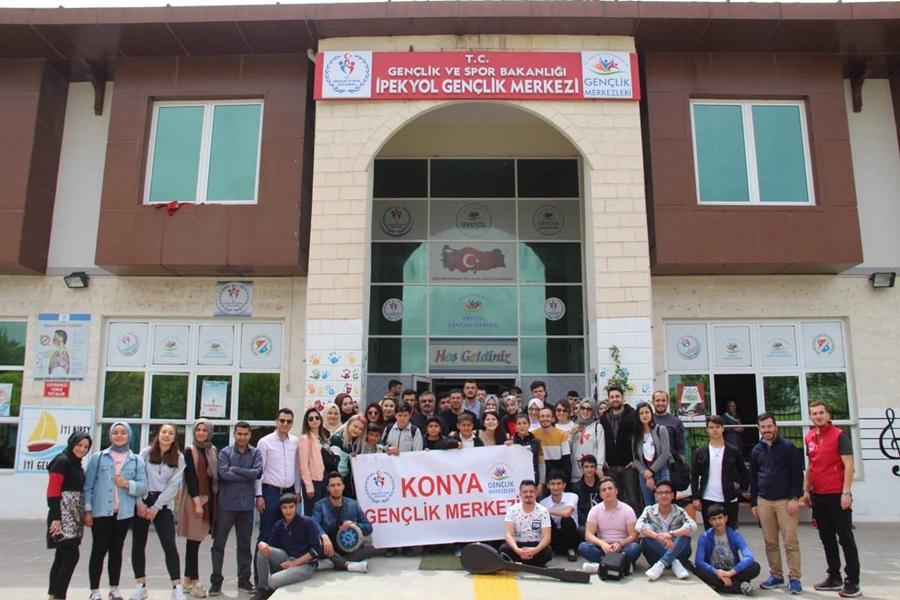 Konya Gençlik Merkezi Gençleri Şanlıurfa İpekyol Gençlik Merkezinde