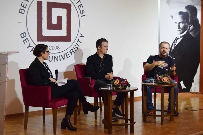 Kafa Radyo yöneticileri ve Mimar Galip Kaynar Beykoz Üniversitesi'ne konuk oldu
