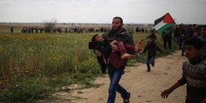 Gazze'de şehit edilen Filistinli sayısı 62'ye yükseldi