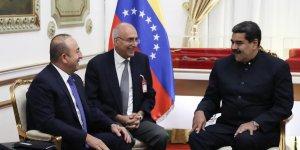 Çavuşoğlu Venezuela Devlet Başkanı Maduro ile görüştü..
