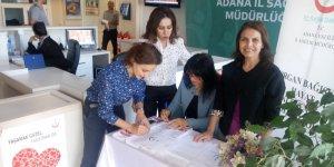 Adana'da Organ Bağış Haftası Etkinliği