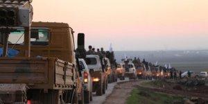 Suriyeli muhalifler Münbiç'teki cephe hatlarına gidiyor