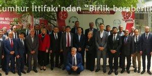 """Adana'da Cumhur İttifakı'ndan """"Birlik beraberlik"""" mesajı!"""