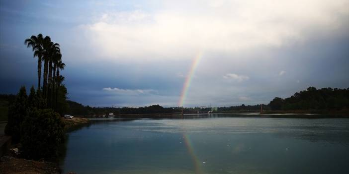 Adana'da yağışlı hava