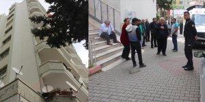 Adana'da 9. kat penceresinden düşen kişi öldü