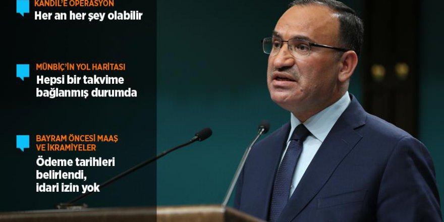 Başbakan Yardımcısı Bozdağ: Ramazan Bayramı'nda idari tatil söz konusu değil
