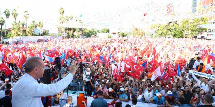 Erdoğan, Adana'yı 24 Haziran'da Birinci Sırada Görmek İstiyorum...