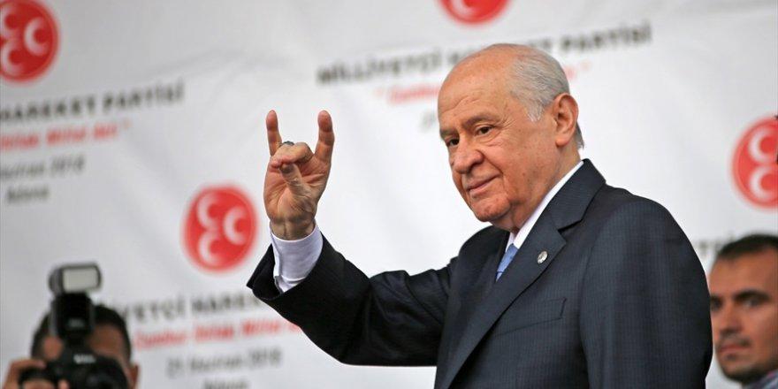 MHP Genel Başkanı Bahçeli: Bu seferki seçimler sis perdesini aralayacak