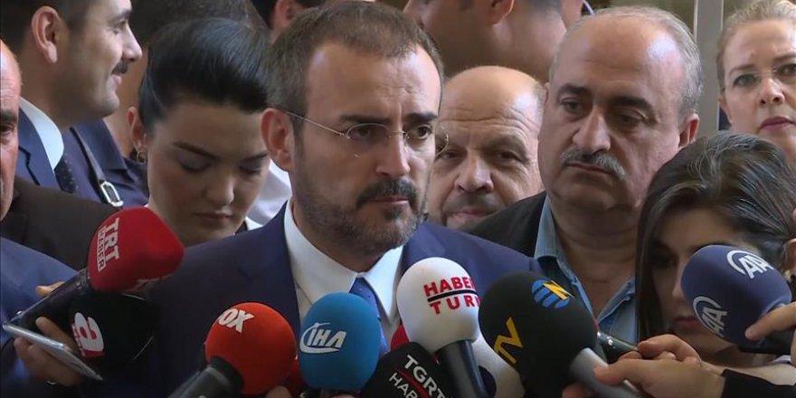AK Parti Sözcüsü Ünal: Gündemimizde erken seçim bulunmamaktadır