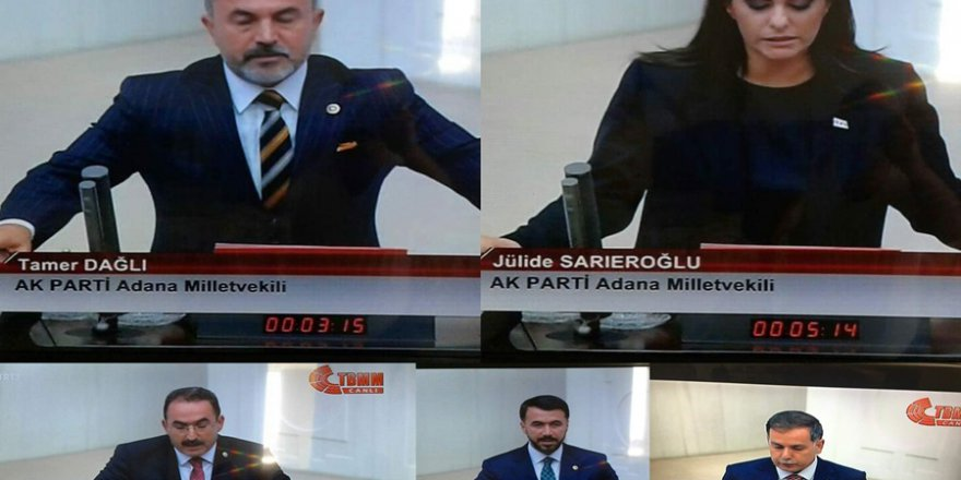 Adana Milletvekilleri yemin etti..