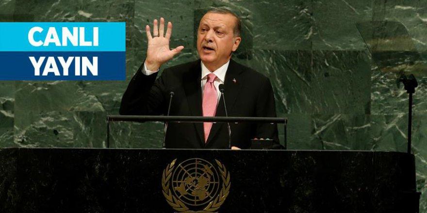 """Erdoğan: """"Bugün bazı ülkeler ısrarla kaos çıkarmaya çalışıyor"""""""