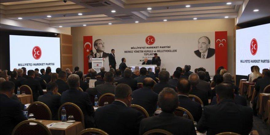 MHP'nin Kızılcahamam kampı başladı