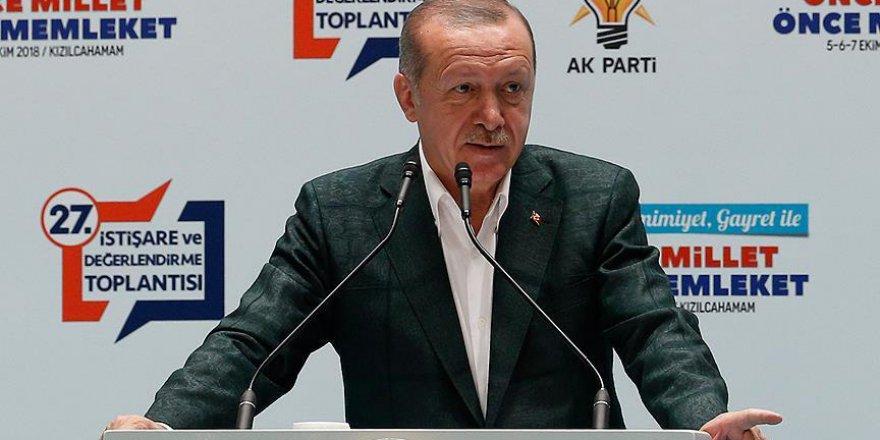 Cumhurbaşkanı Erdoğan'dan 'McKinsey' açıklaması