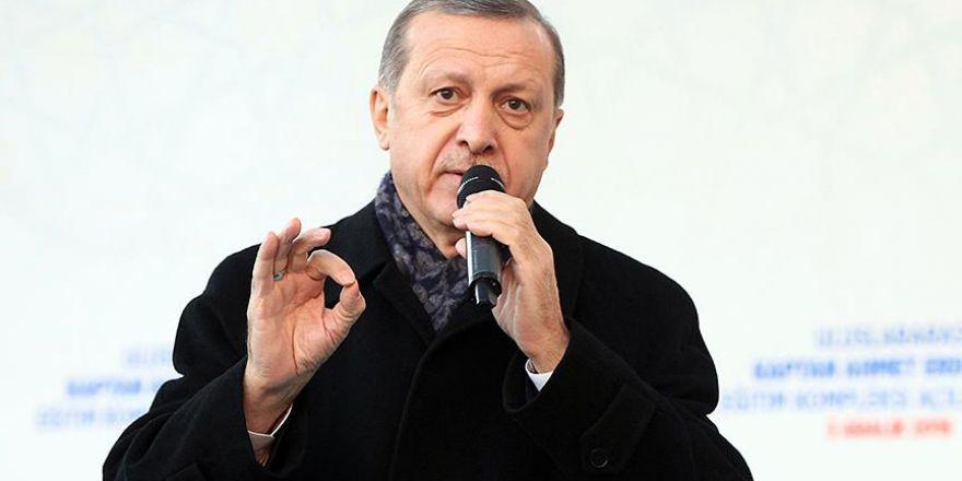 Cumhurbaşkanı Erdoğan: İstediğiniz kadar terör estirin bu milleti bölemeyeceksiniz