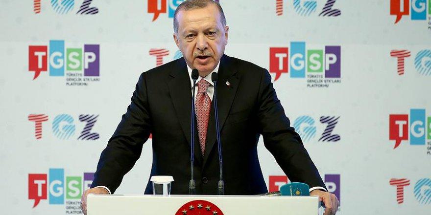 """Erdoğan: """"Bizim andımız İstiklal Marşımızdır.."""""""
