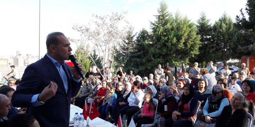 Başkan Sözlü, Şambayadı Mahallesine Yaptığı Hizmetler Sıraladı ..