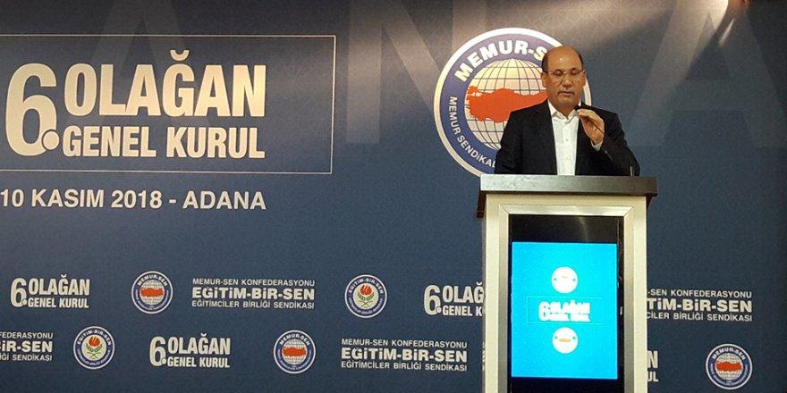 Mehmet Sezer: 'Eğitim-Bir-Sen Türkiye'nin Derin Bilincidir, Biz Varsak Ümit Bitmeyecektir..'