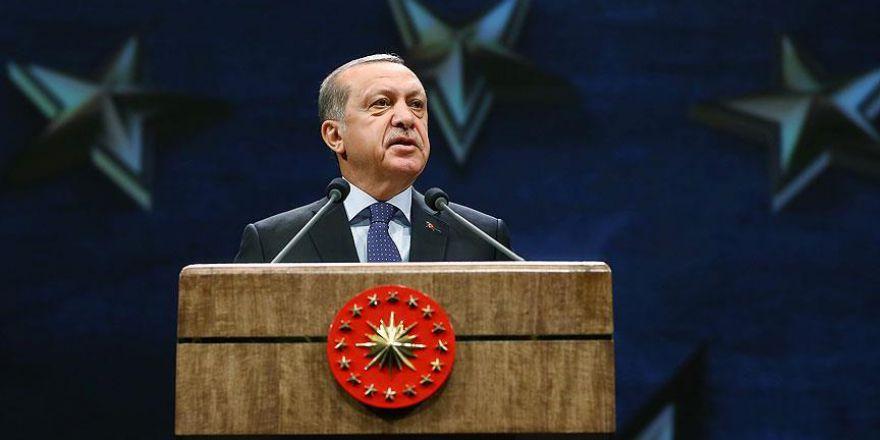 Cumhurbaşkanı Erdoğan: Eğer durmaya kalkarsak kendimizi bulacağımız yer Sevr şartlarıdır