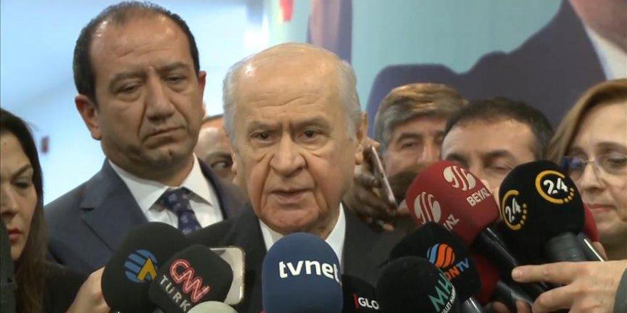 MHP Genel Başkanı Bahçeli: Cumhur İttifakı içinde jestler de olabilir