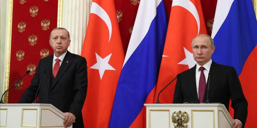 Erdoğan: İdlib'te terör örgütlerine karşı mücadelemiz ortak devam edecek