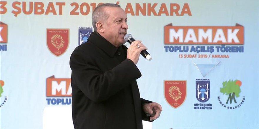Erdoğan: Yıkım ittifakı seçimleri 17 yılın hesaplaşması olarak görüyor