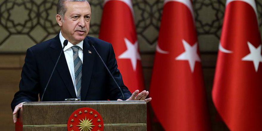 Cumhurbaşkanı Erdoğan: ''Kültür sanat konusunda da yanlış stratejiyi tercih ettik''