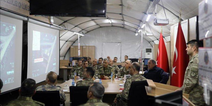 Milli Savunma Bakanı Akar, 2019 kış tatbikatına katıldı