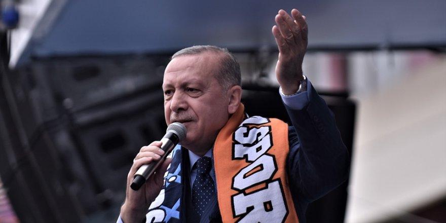 Erdoğan: Ezan ve bayrak düşmanları ile sonuna kadar mücadele edeceğiz