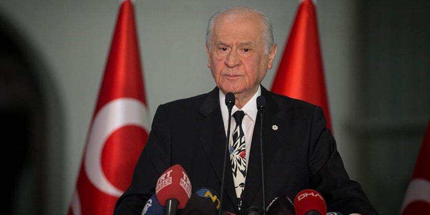 Bahçeli: Türkiye üzerinde karanlık hesapları olan mihraklar kaybetmiştir