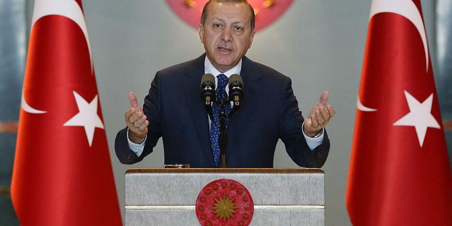 Cumhurbaşkanı Erdoğan: ''Bu ne menem iştir''