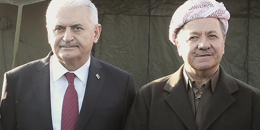 Yıldırım ile Barzani Münih'te bir araya geldi