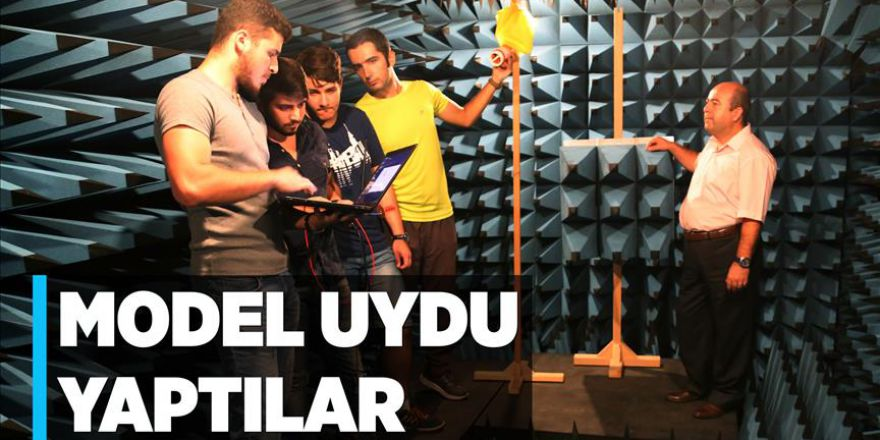 6,5 ayda model uydu yapıp Türkiye birincisi oldular