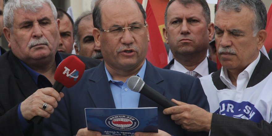 Memur-Sen Adana'dan 'Zeytin Dalı Harekatı'na Destek