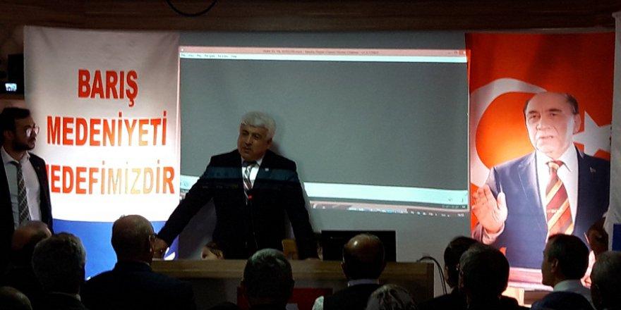 Millet Partisi Adana İl İstişare Toplantısı Yapıldı