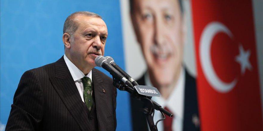 Cumhurbaşkanı Erdoğan: En ön cephede mücadele yürütüyoruz